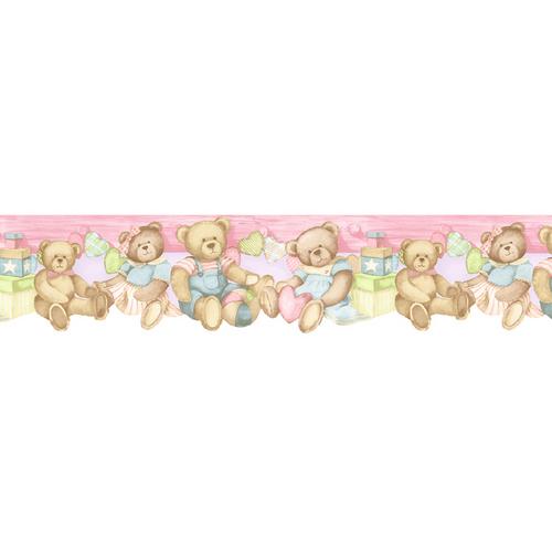 Baby Bear Wallpaper Border 500x500