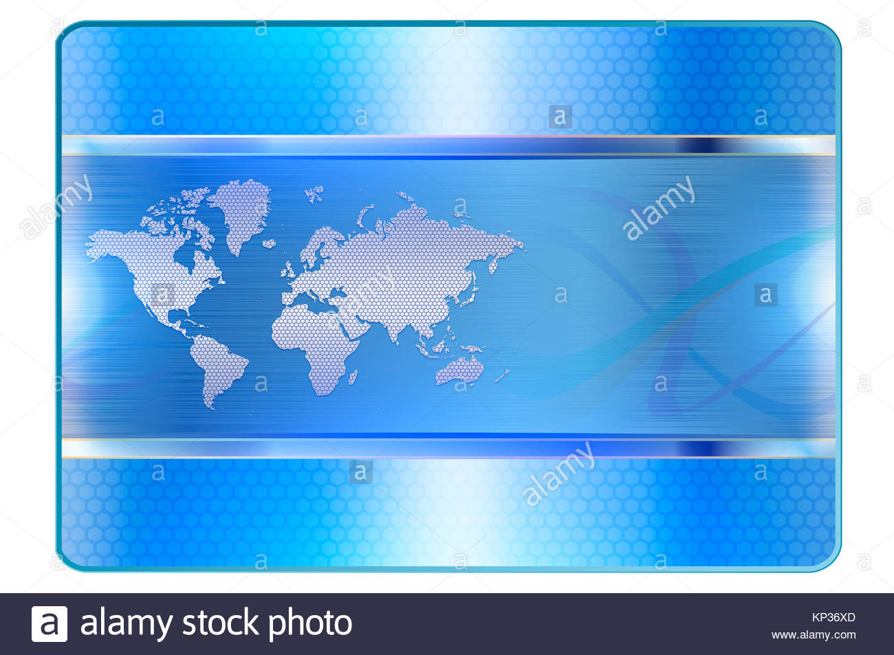 Template for the design of credit cardBlue abstract background 1300x953