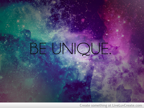 be unique cute galaxy inspirational love pretty quote quotes 500x374