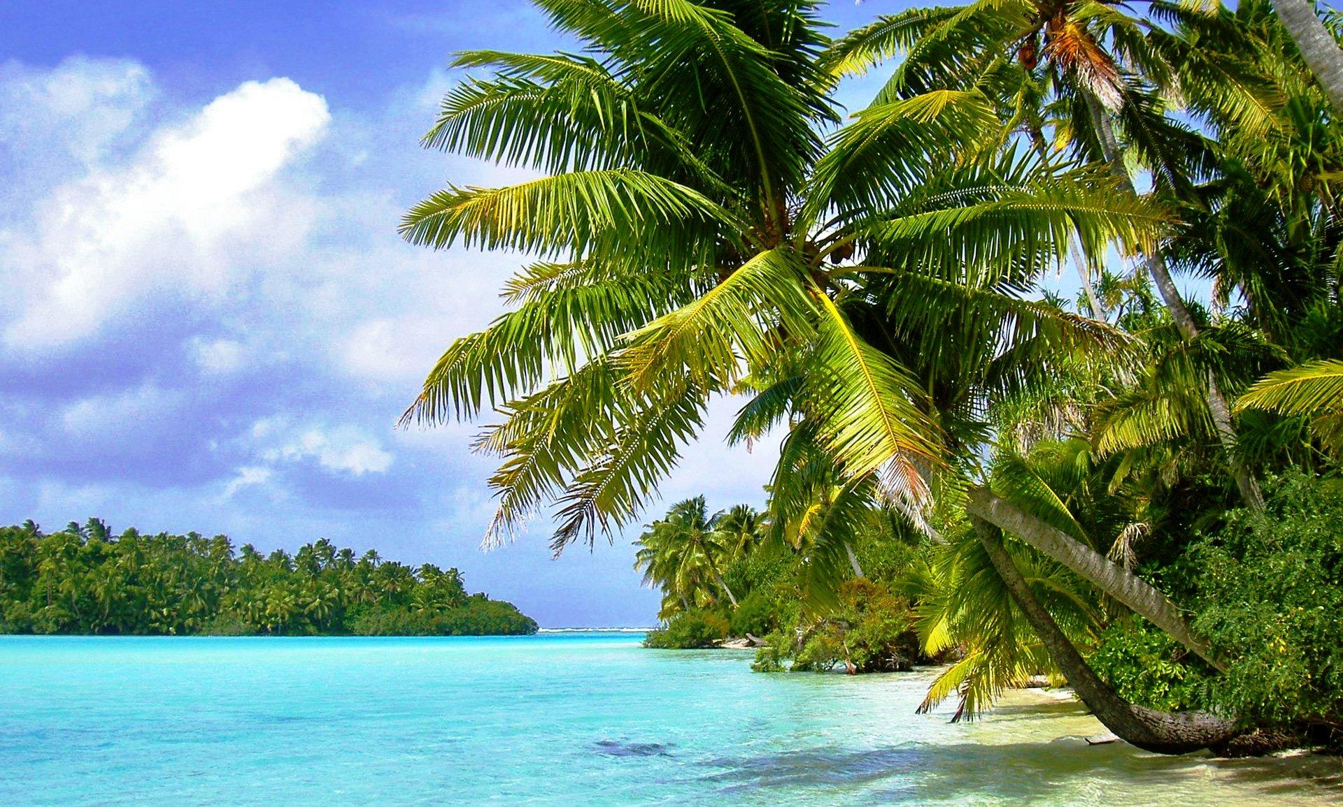 Tropical Island Backgrounds 1920x1155