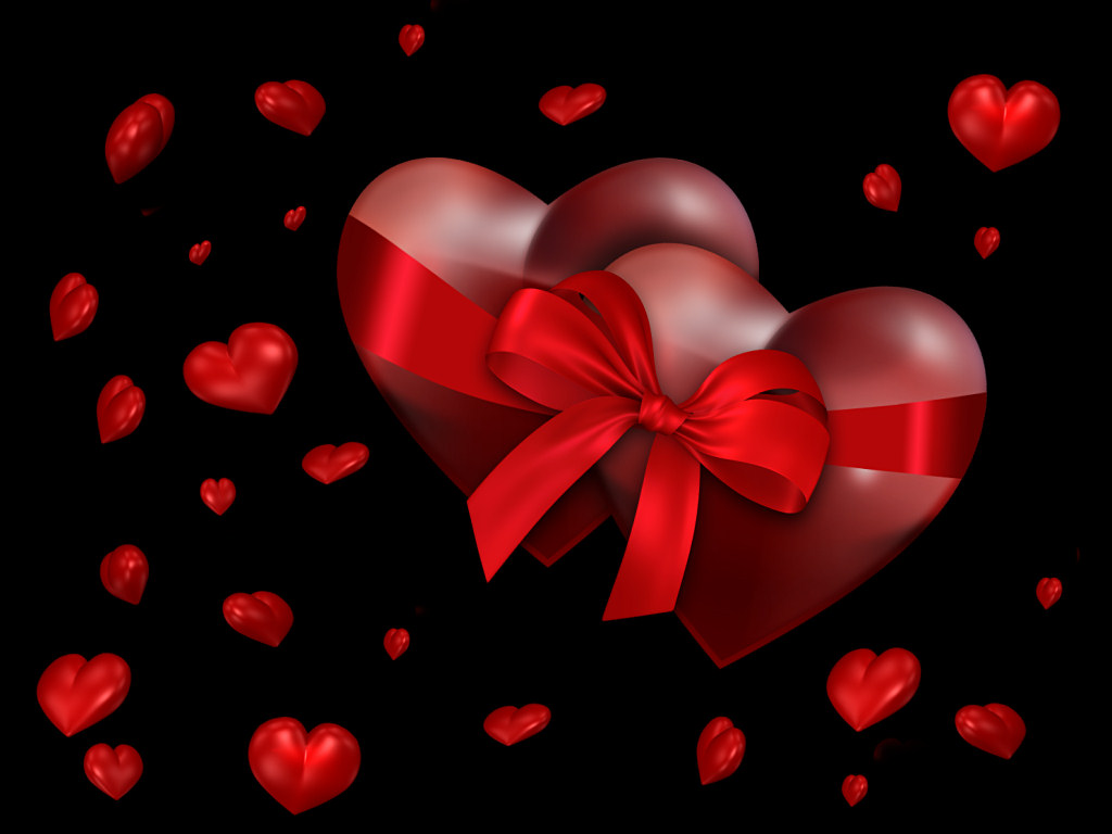 Valentines day hearts wallpapers ideas for valentines day pictures 1024x768