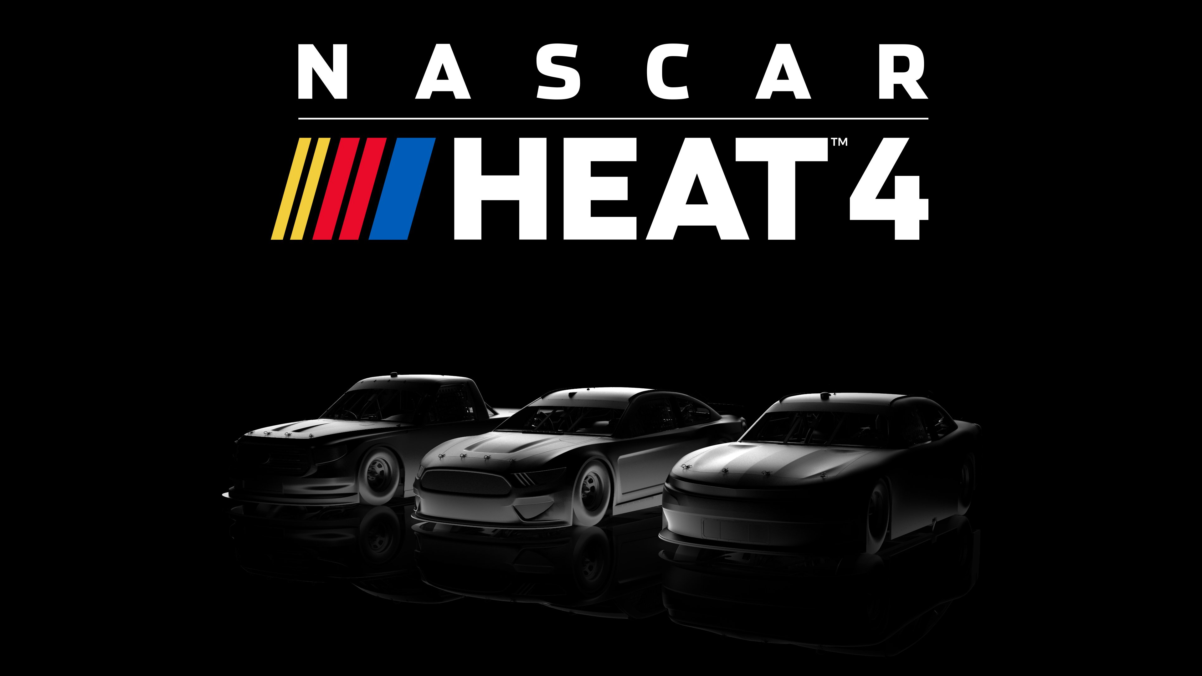 NASCAR Heat 4 wallpaper based off the roster announcement image 3840x2160