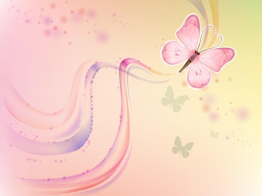 Pink Butterflies Wallpapers HD wallpapers   Pink Butterflies 1024x768