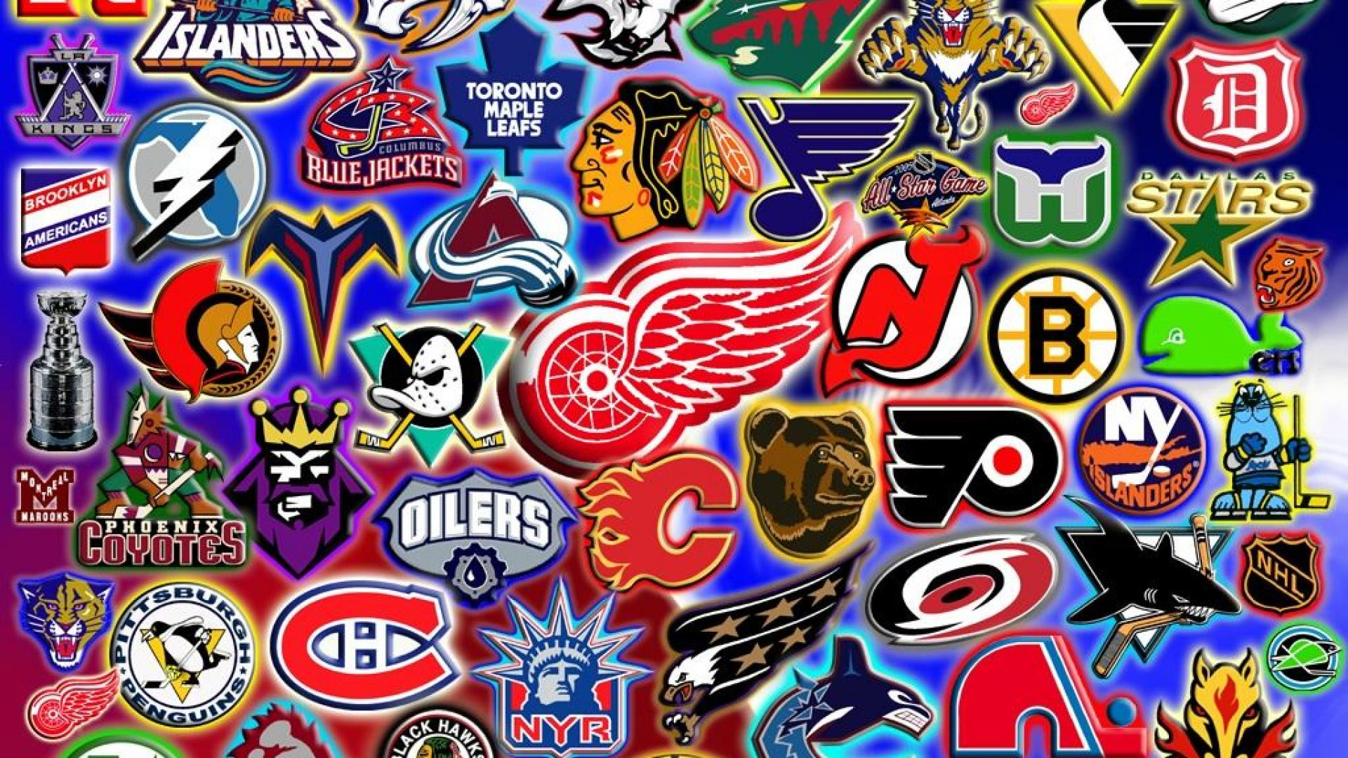 42 nhl logo wallpaper collection on wallpapersafari - Nhl hockey wallpapers ...