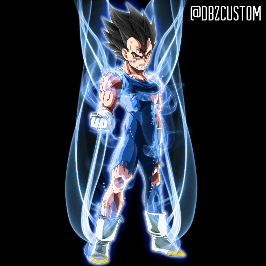 Vegeta ultra instinct by dbzcustom 1024x1024