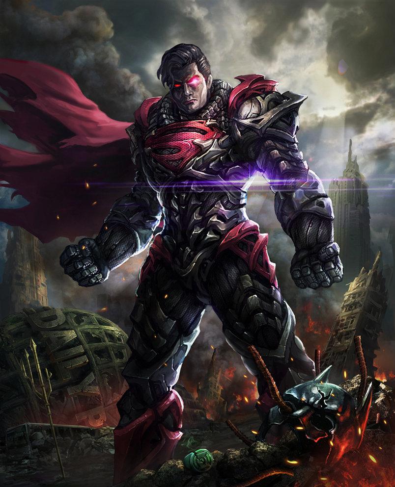 Man of Steel gone bad by AlienTan 804x993