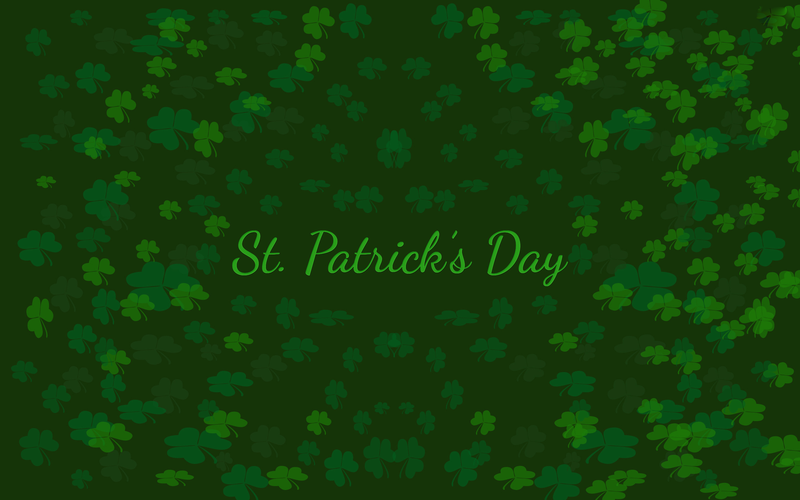 St Patricks Day Wallpapers HD Wallpapercraft 2560x1600