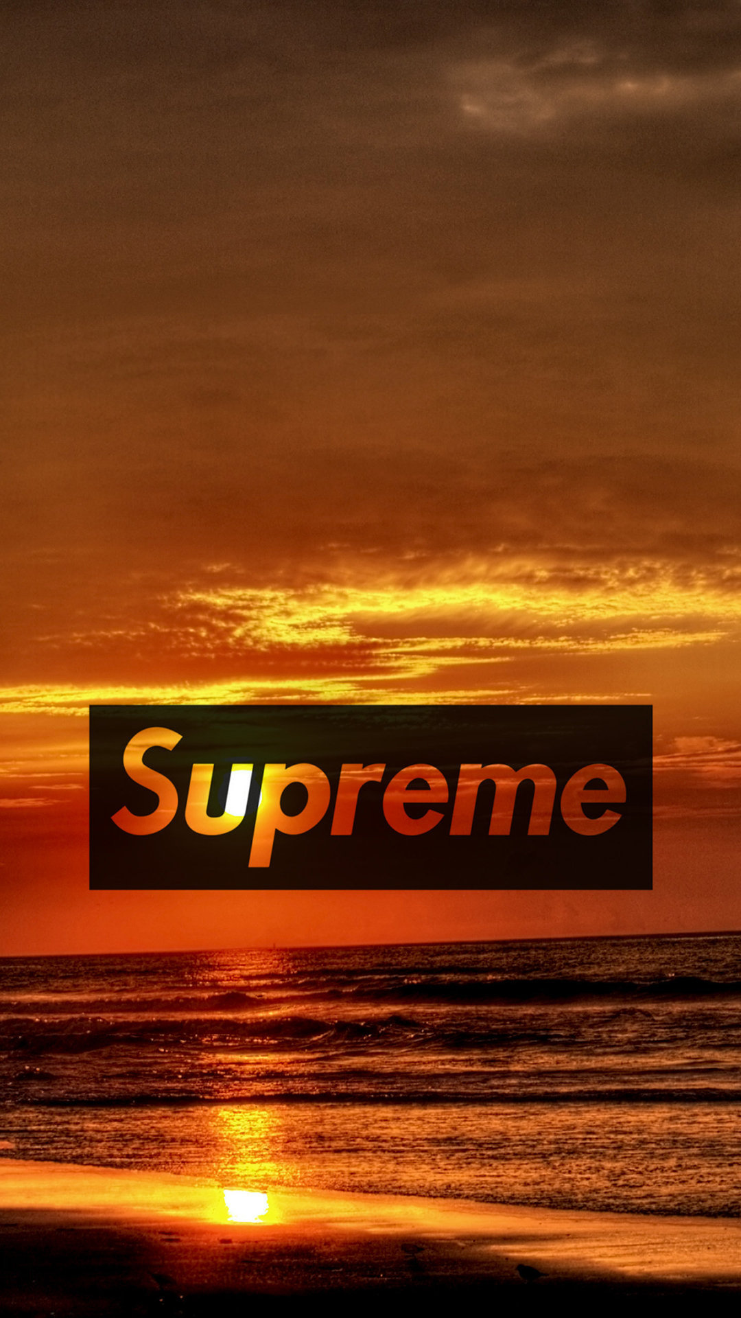 Supreme Sunset Wallpaper   AuthenticSupremecom 1080x1920