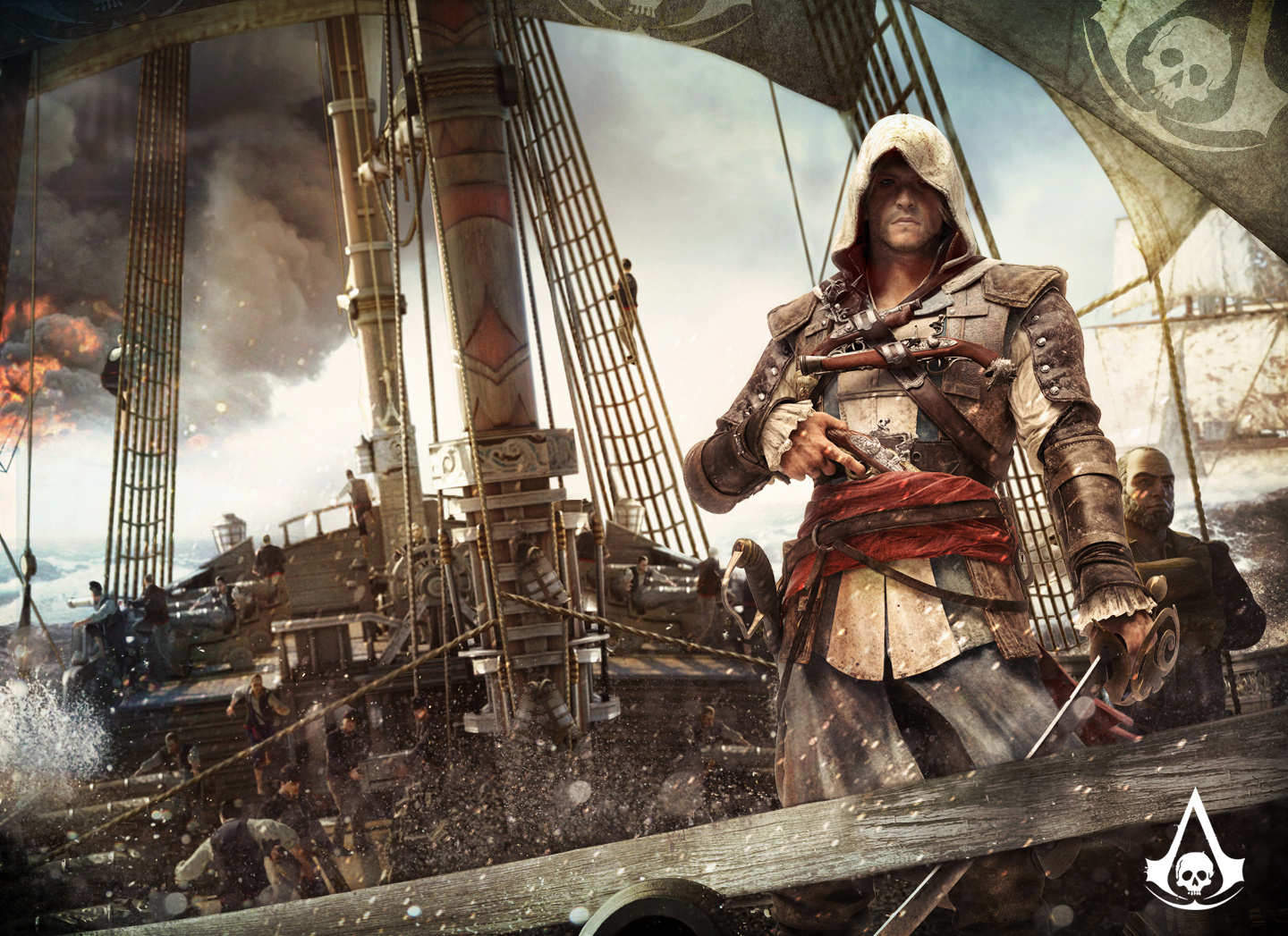 download Assassins Creed 4 Black Flag pirate gameplay trailer 1440x1047