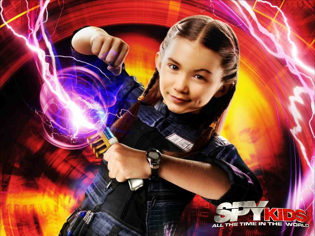 Spy Kids All The Time In The World 4D 1024x768