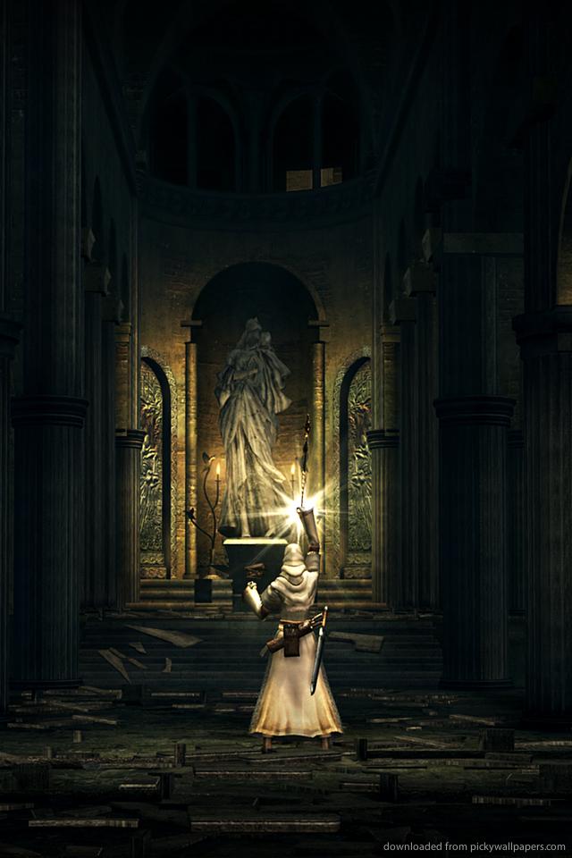 Dark Souls 2 Iphone Wallpaper Dark souls the lightbringer 640x960