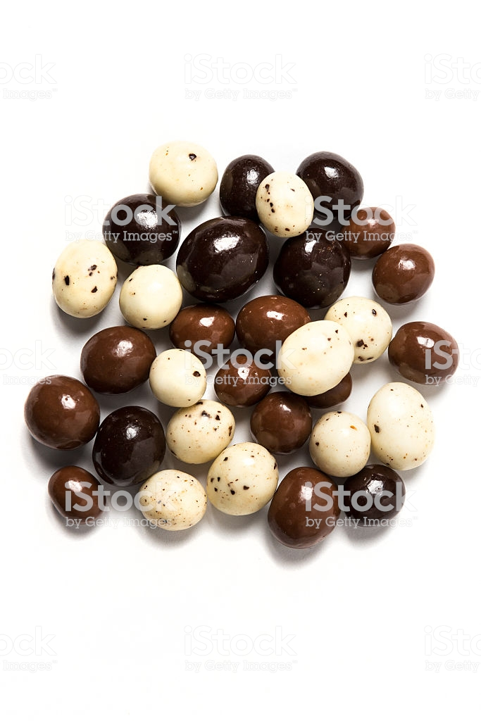 Chocolate Expresso Beans Isolated On White Background Stock Photo 683x1024