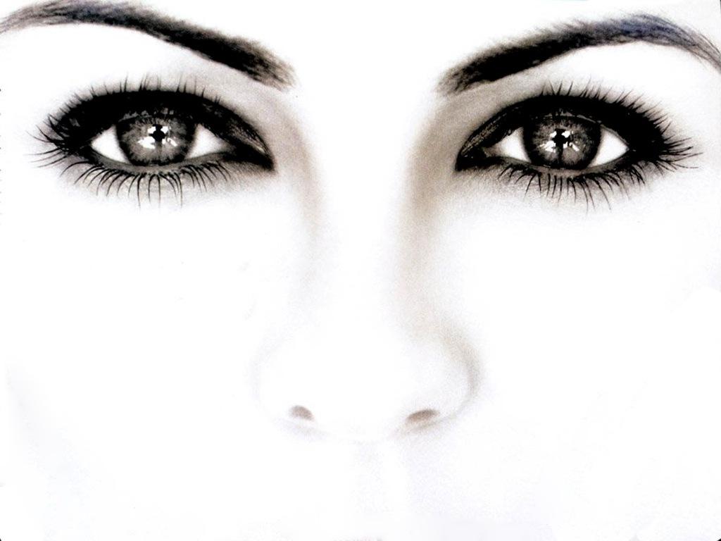 free wallpaper pc computer wallpaper download eyes face white 1024x768