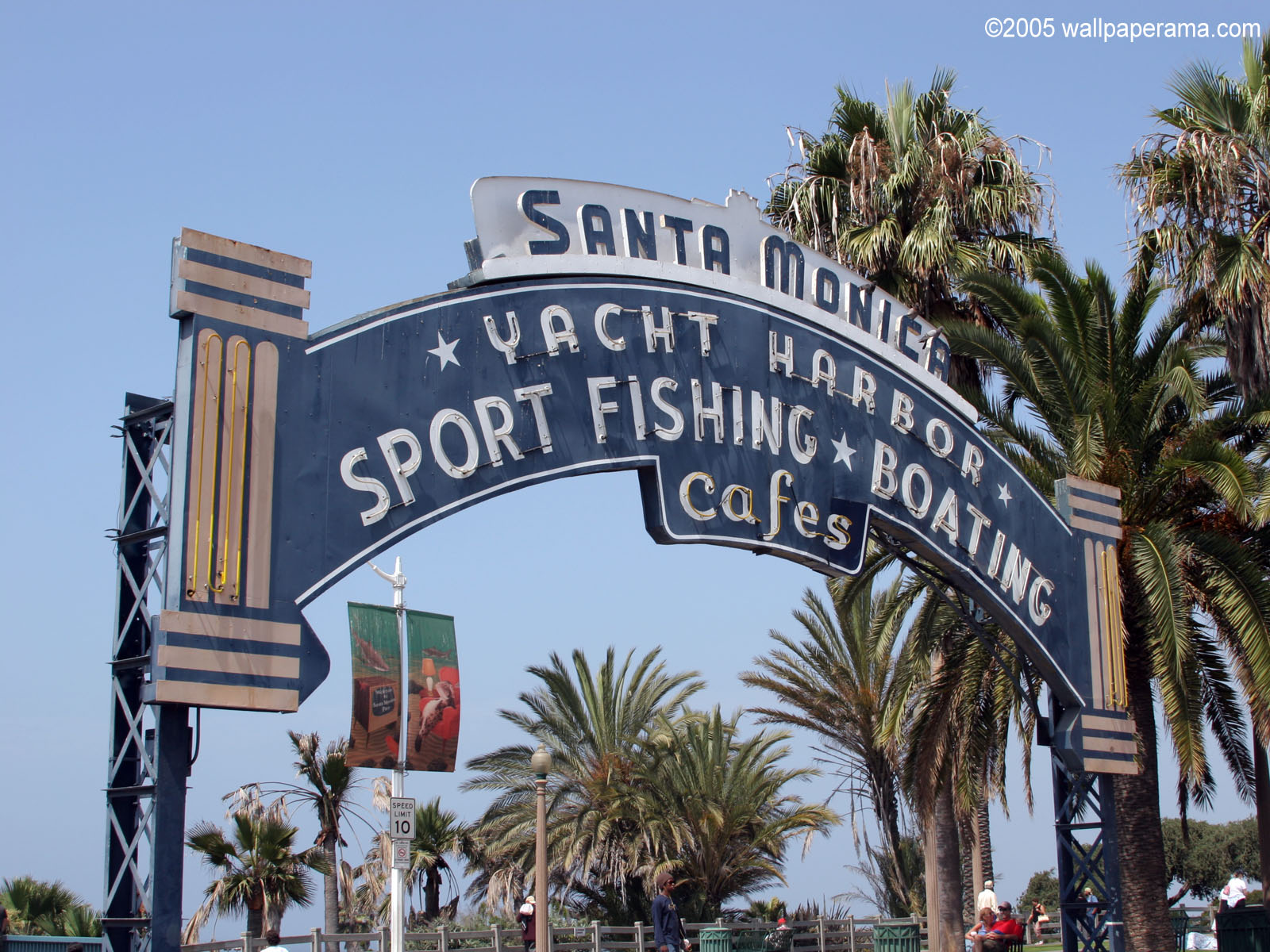 Santa Monica Peer Wallpaper HD Backgrounds Images Pictures 1600x1200