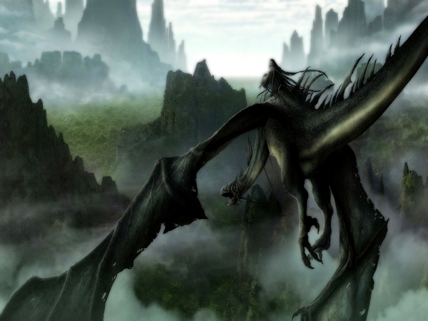 Flying Dragon Desktop Wallpapers for Widescreen HD and Mobile 600x450