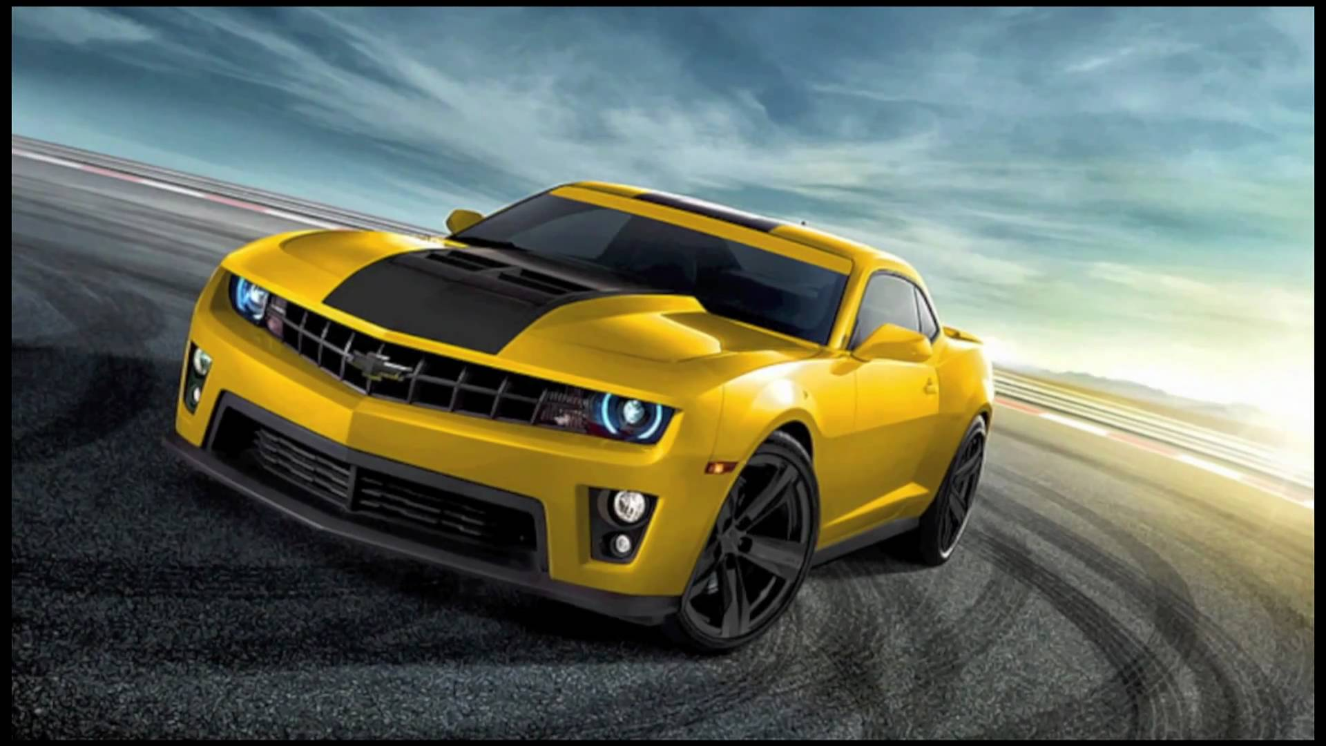 2012 Chevy Camaro ZL1 In Various Colors 1920x1080