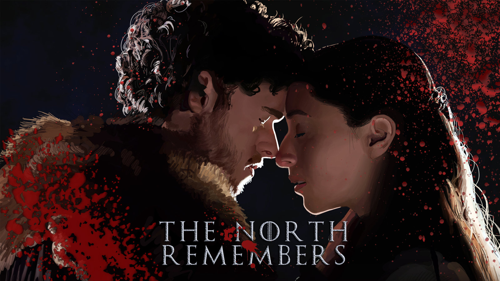 the north remembers by masteryoda91 fan art wallpaper movies tv 2013 1600x900
