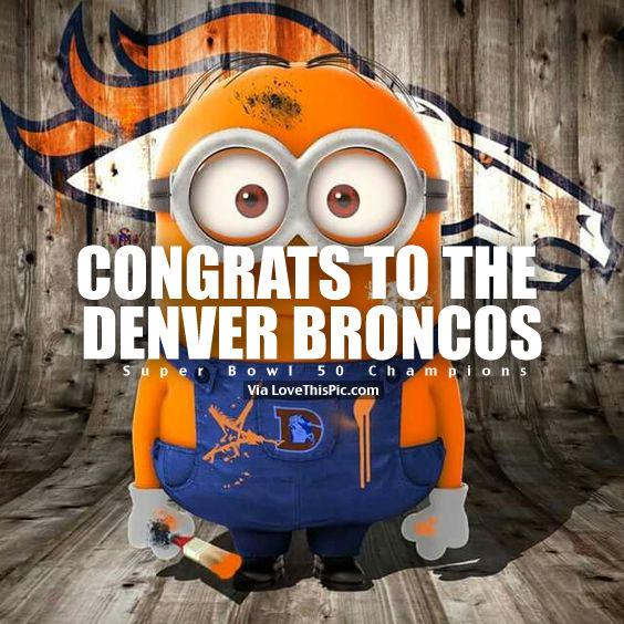 Congrats To The Denver Broncos Super Bowl 50 Champions Pictures 564x564