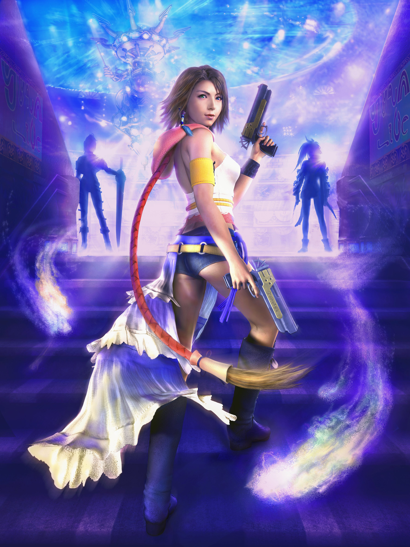 Final Fantasy X 2 images Pictures from FFX 2 HD wallpaper 1425x1900