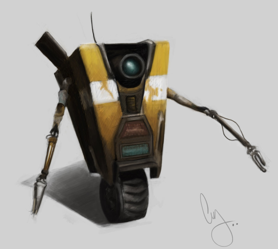 Borderlands Claptrap Wallpaper Borderlands   claptrap by 900x807