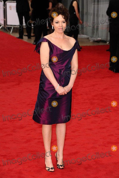 Photos and Pictures   Olivia Colman arriving for the TV 400x600