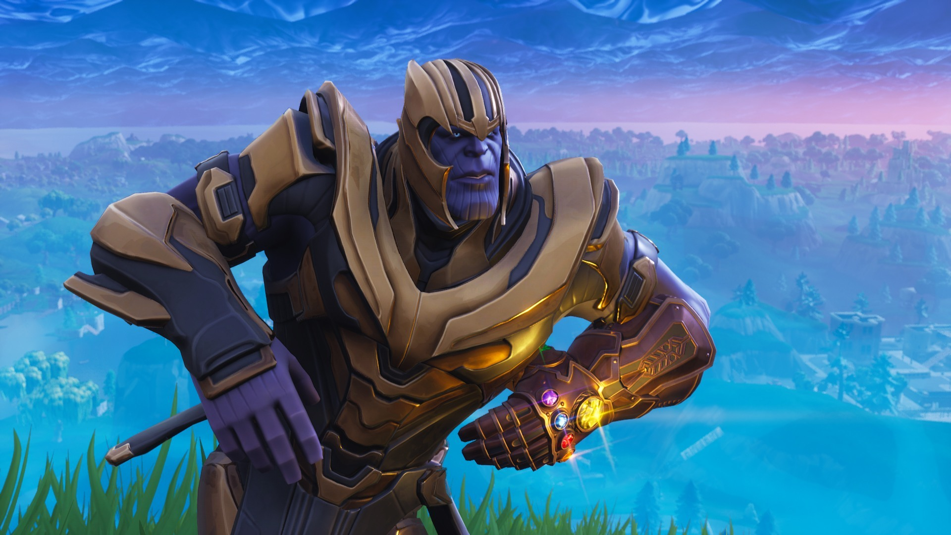 Dancing and Dabbing Thanos Gets Groovy in Fortnite 1920x1080