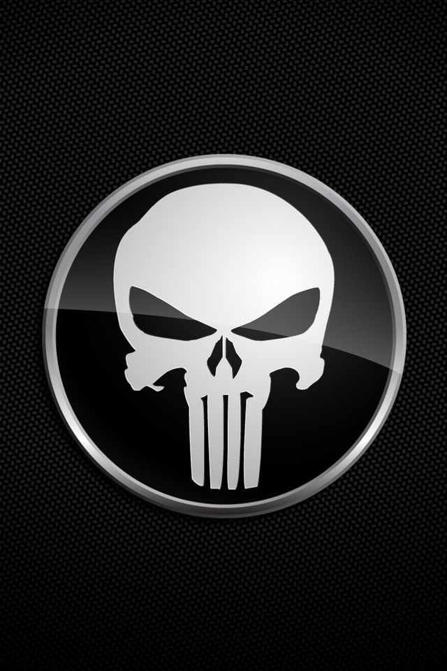 The Punisher logos background for your iPhone download free