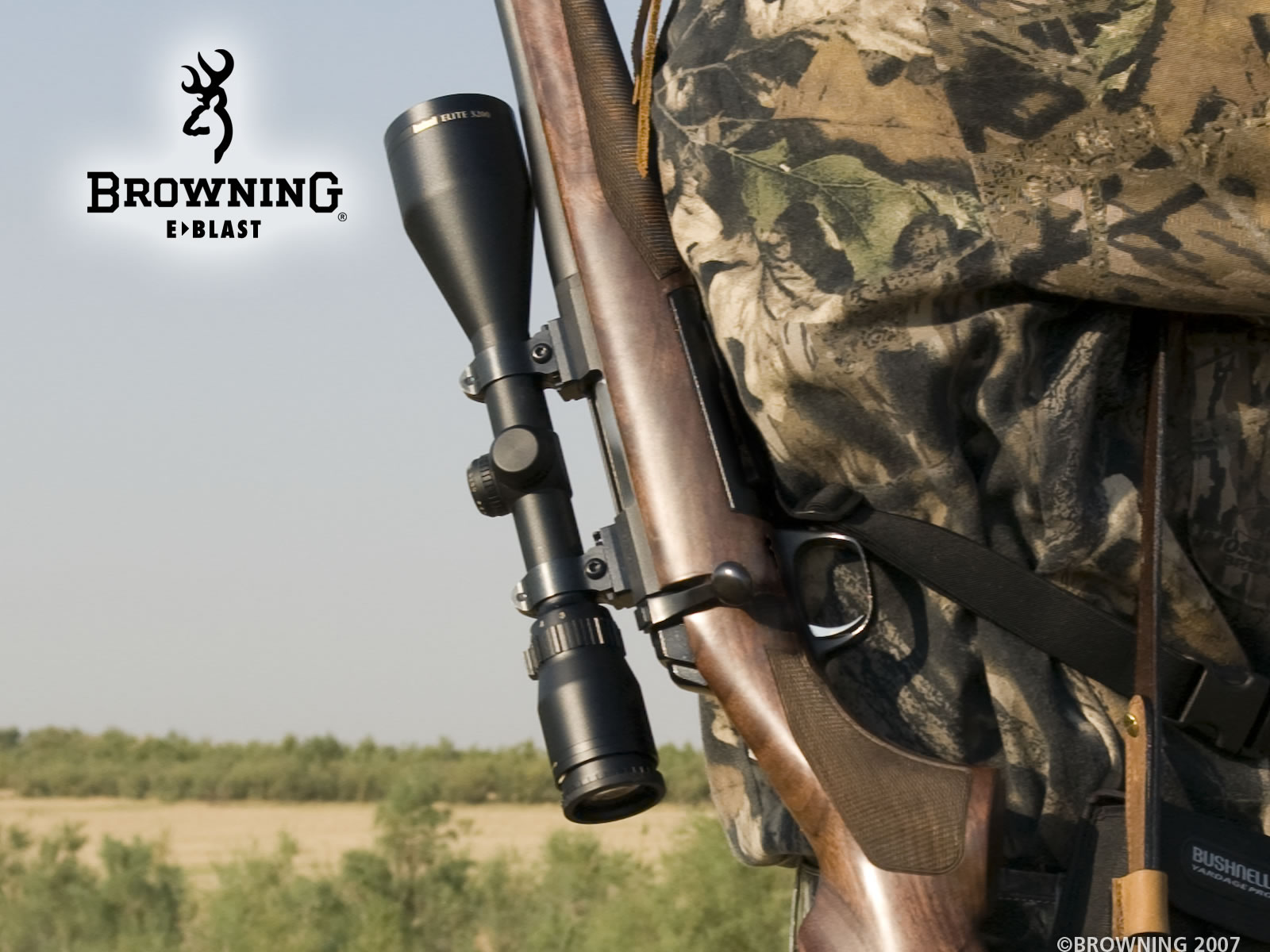 Browning Camo Logo Background 1600x1200