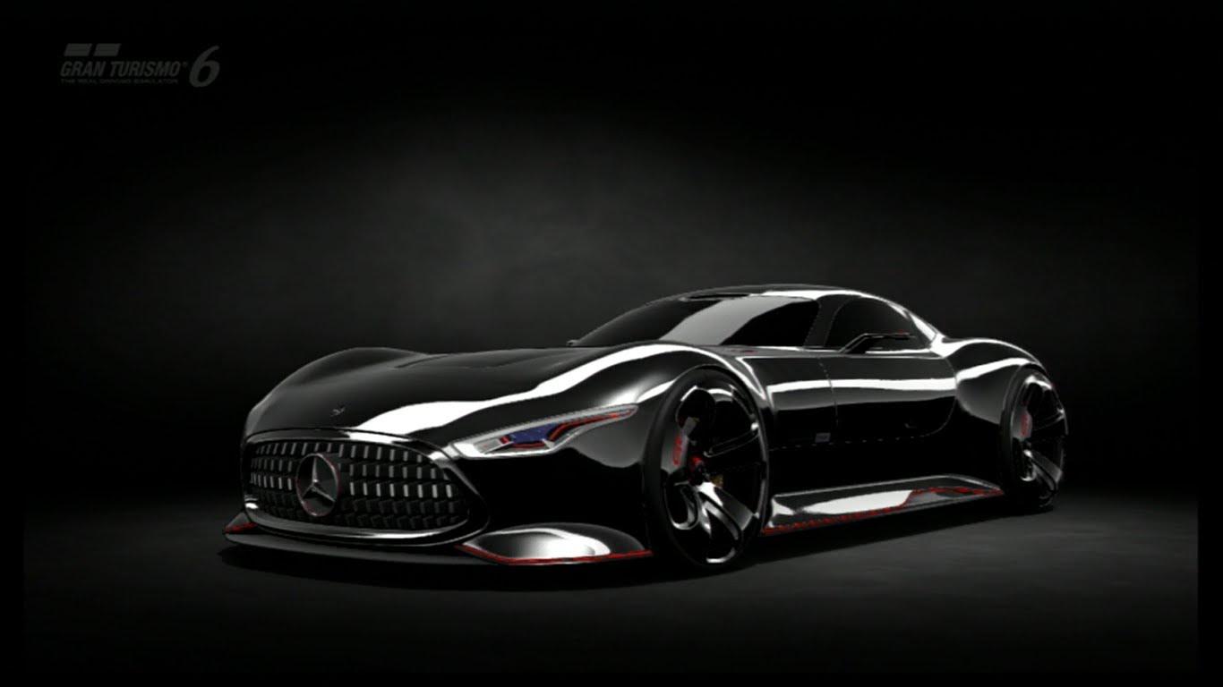GT6   Race   Mercedes Benz AMG Vision GT 1366x768