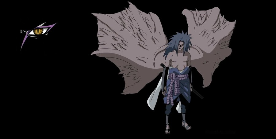 Pin Anime Cursedmark Sasuke Naruto Wallpaper Desktop 900x455
