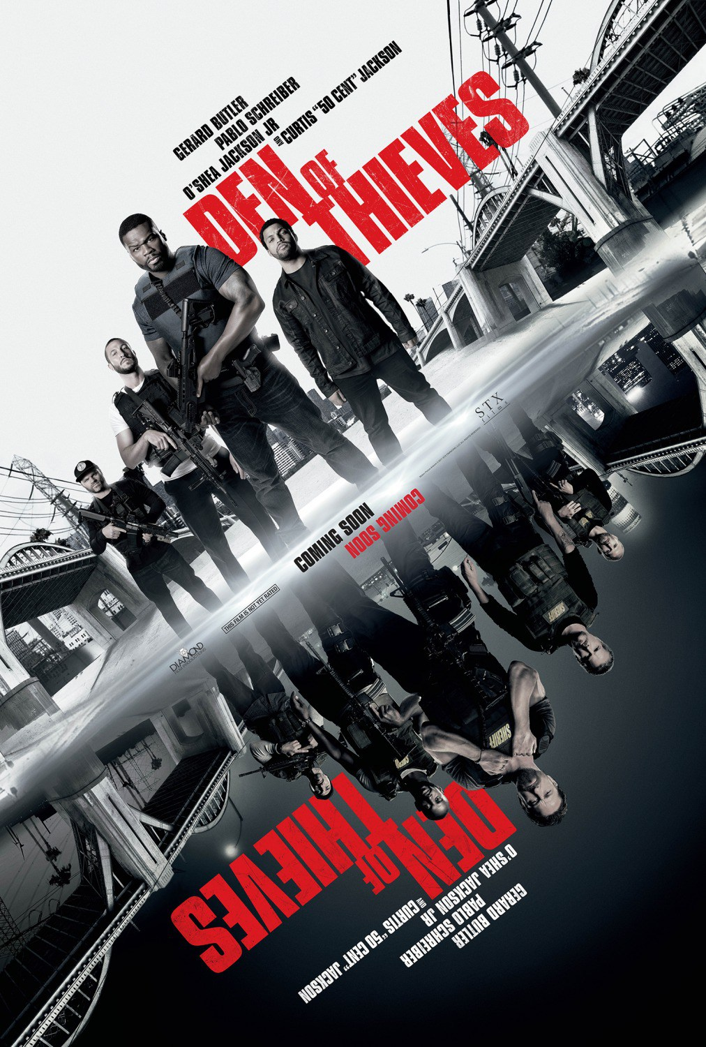 Den of Thieves HD Wallpapers 7wallpapersnet 1012x1500