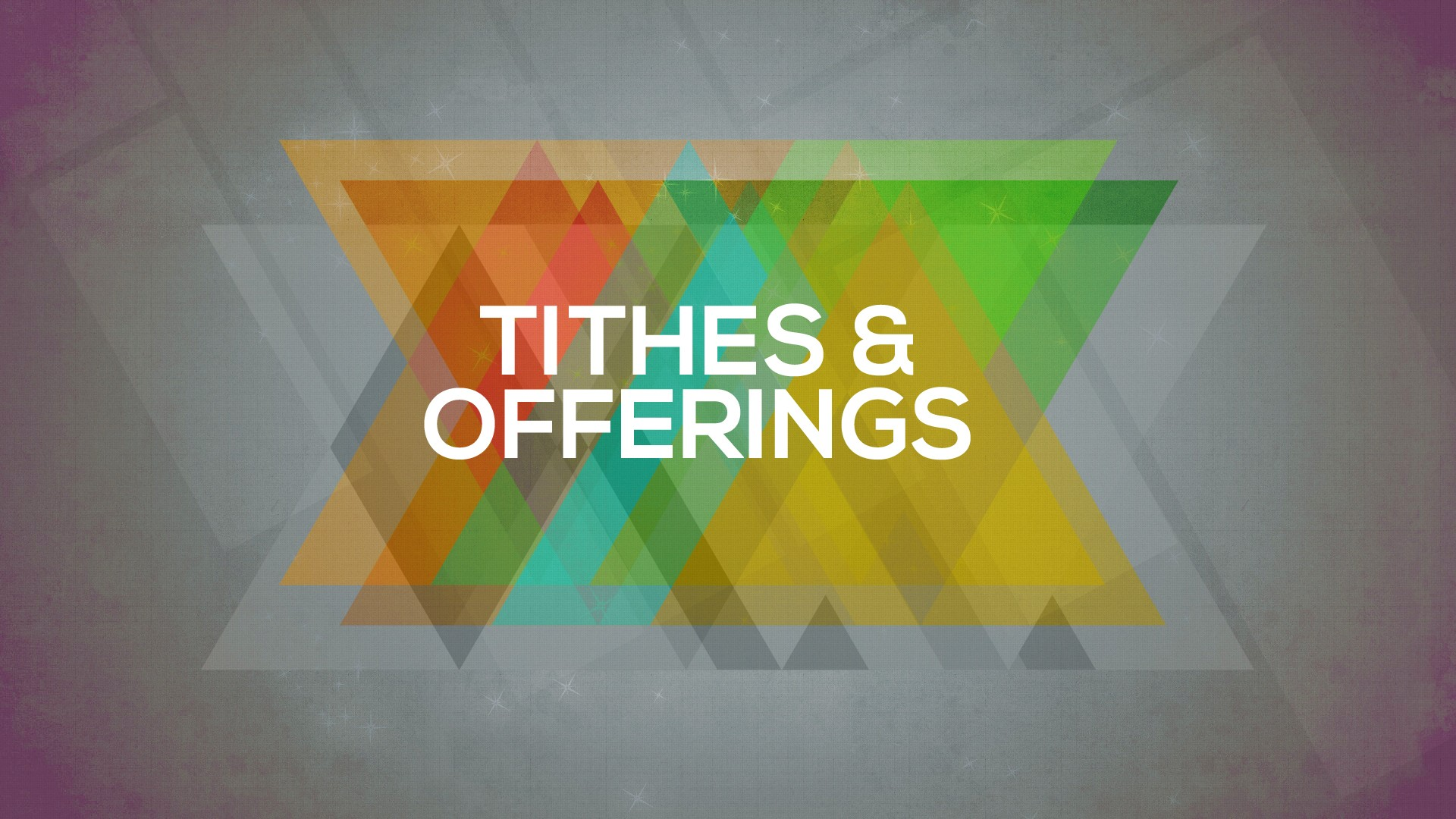Tithes Offerings Crossroads Wesleyan Church 1920x1080