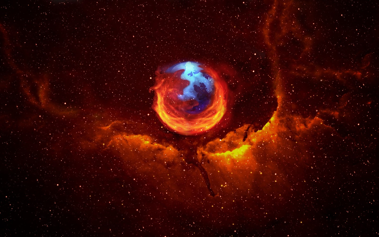 space wallpapers 0t hd space wallpaper 3d graphics firefox space 1600x1000