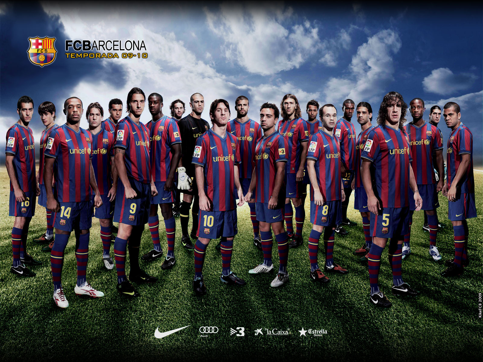 78 Barca Wallpapers On Wallpapersafari