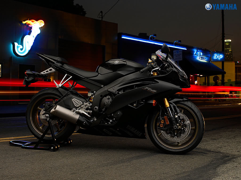 yamaha r6 black 2014 - photo #37