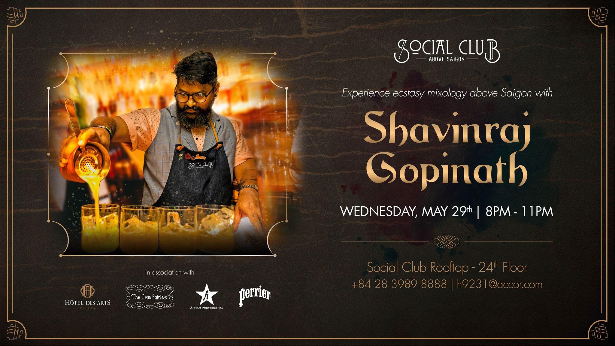 Mixology above Saigon   Meet Shavinraj Gopinath Social Club 2048x1152
