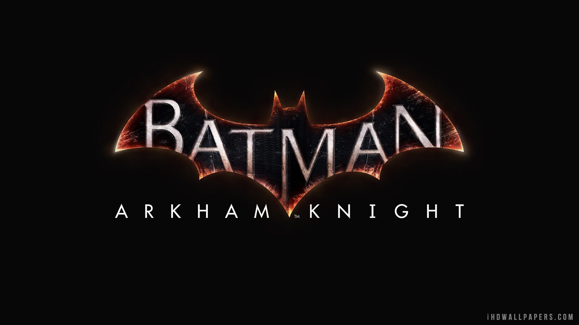 Batman Arkham Knight Logo HD Wallpaper   iHD Wallpapers 1920x1080