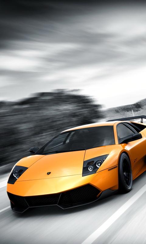 Lamborghini 480x800 Screensaver wallpaper 480x800