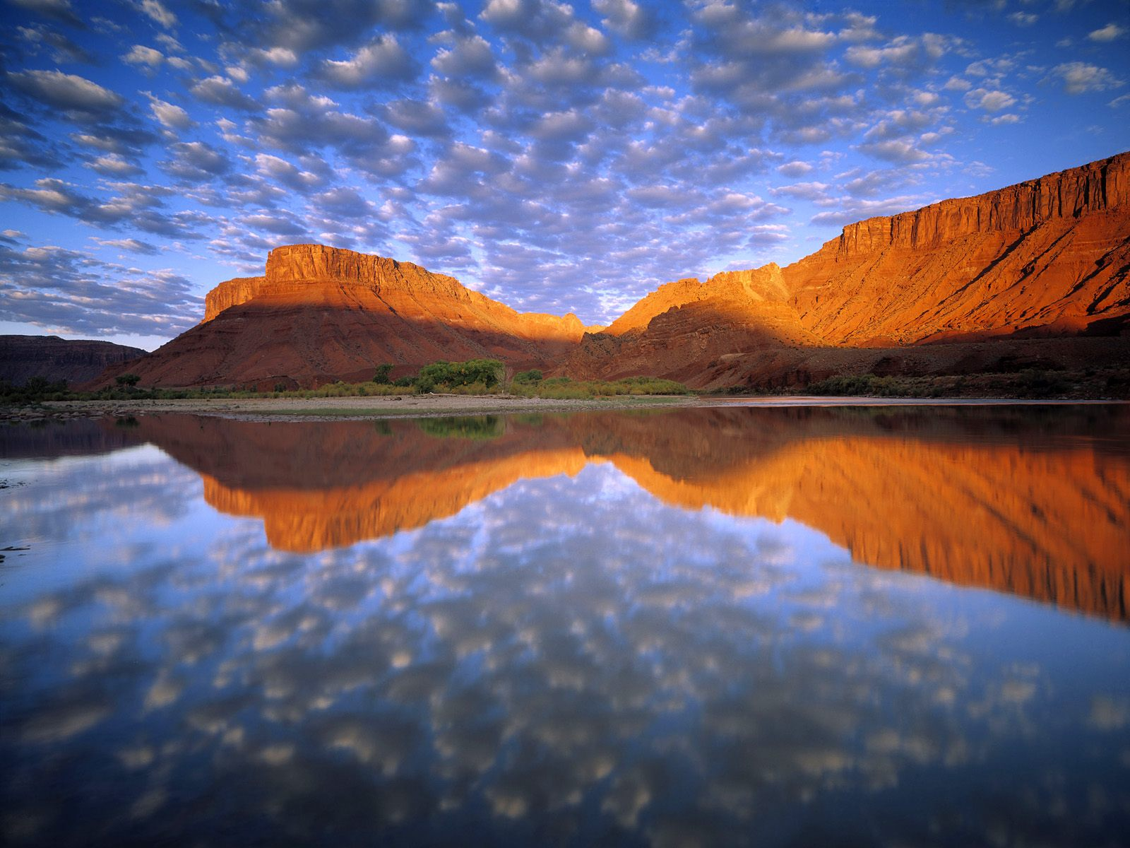 Buttermilk Clouds Colorado River Wallpapers HD Wallpapers 1600x1200