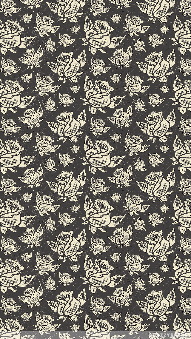 Installing this Vintage Roses iPhone Wallpaper is very easy Just 640x1136