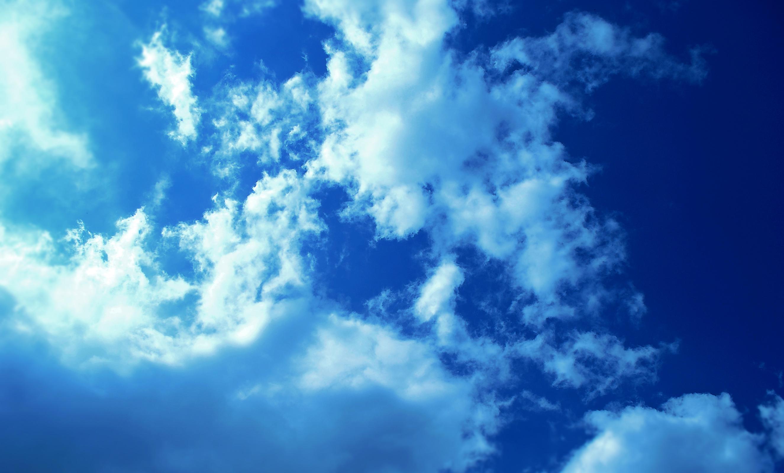 Pics Photos   Nature Blue Sky Wallpaper Hd Wallpapers 2650x1600