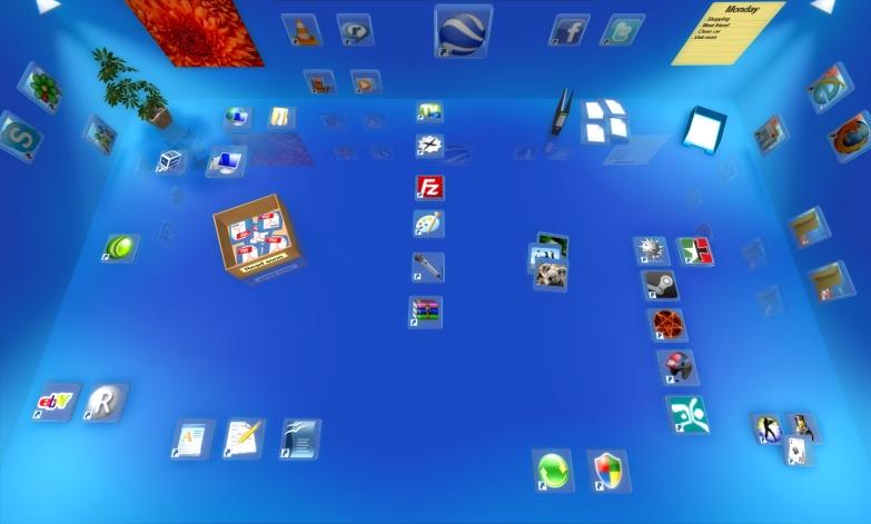 Free download real desktop 156 make your windows desktop 3d tricks.