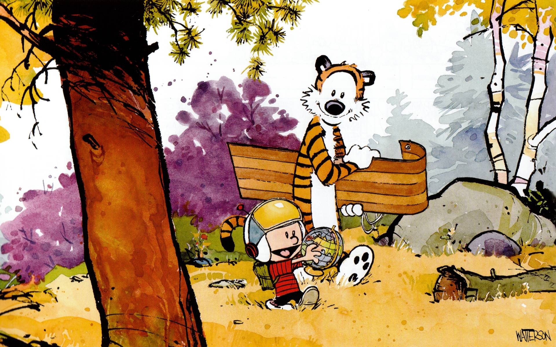 Calvin And Hobbes Desktop Wallpapers 1920x1200