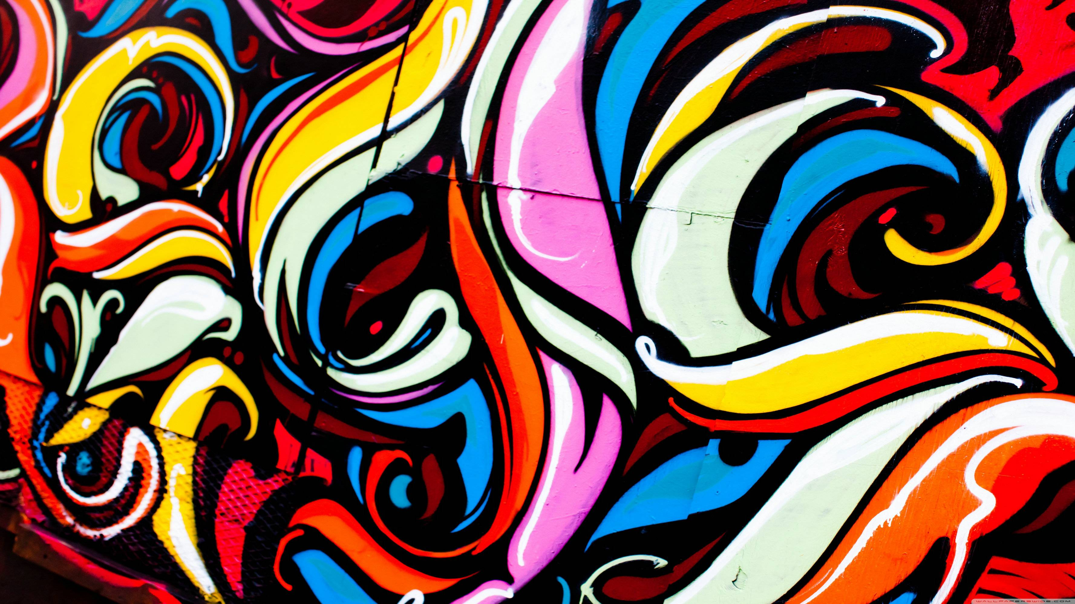 Music Graffiti Wallpapers: Cartoon Graffiti Wallpapers