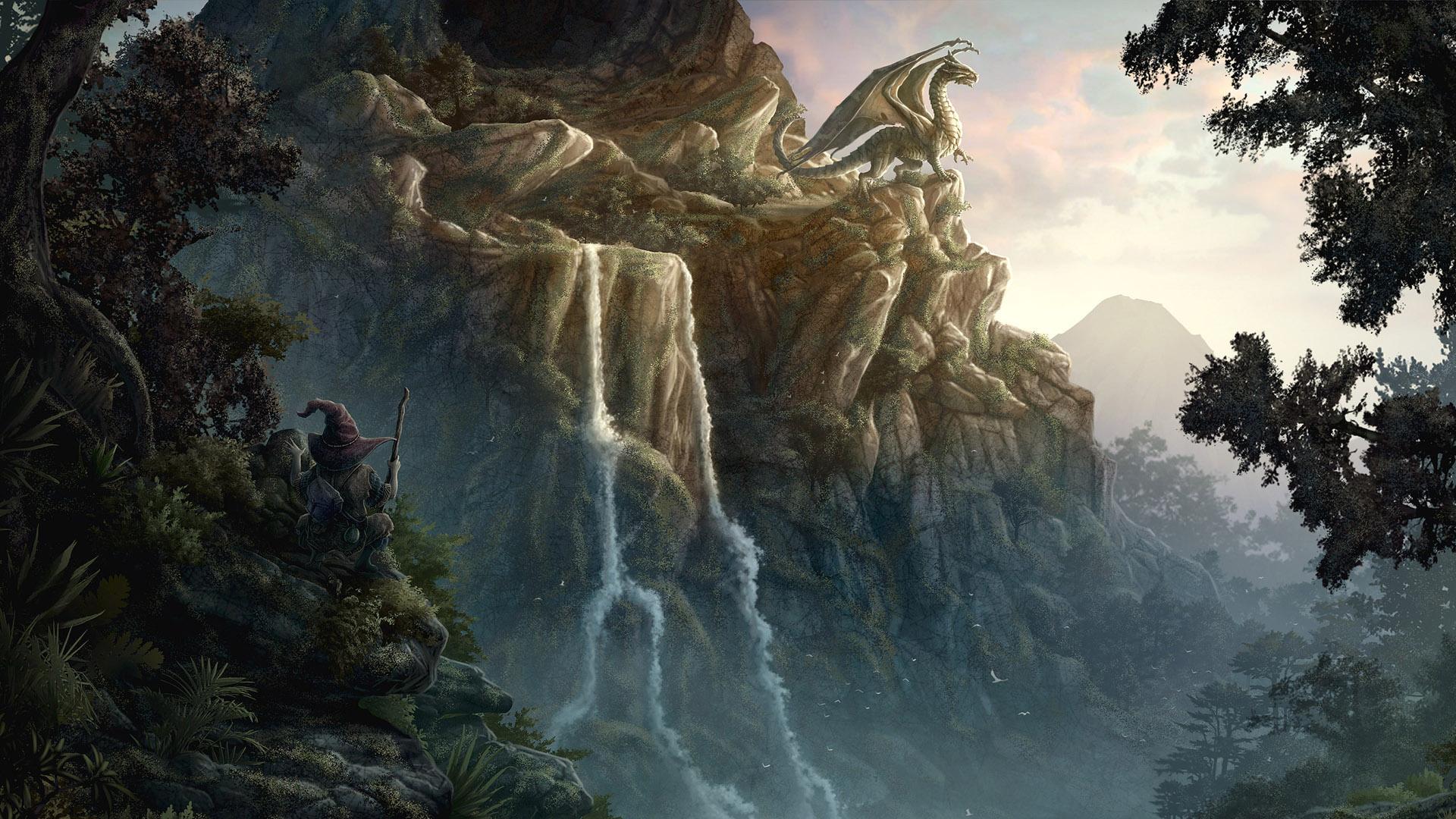 1920 x 1080 Dragon Game HD Wallpaper 1920x1080