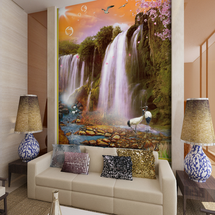 Custom murals wallpaper bedroom living room sofa television 3d 750x750