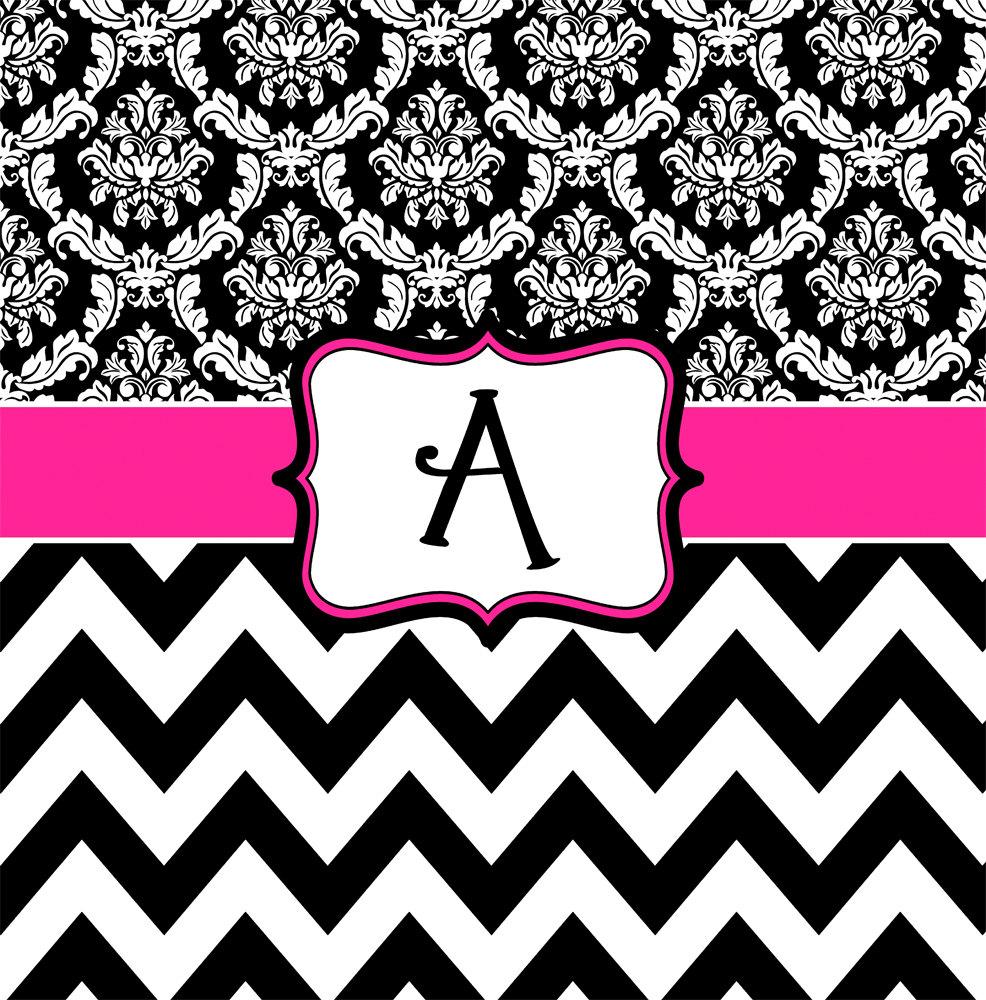 Wallpaper Black Pink: [48+] Pink And White Chevron Wallpaper On WallpaperSafari