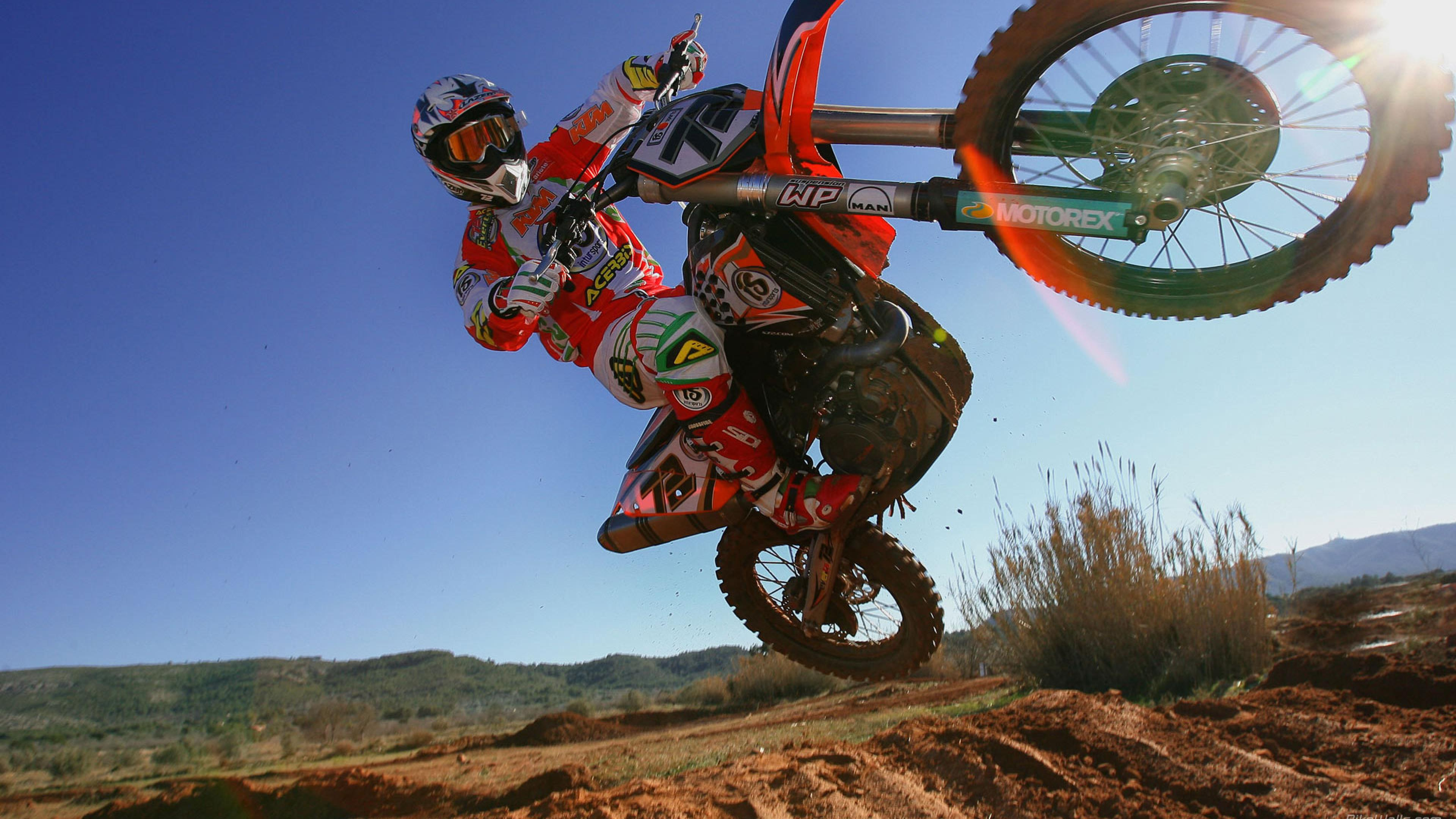Download Motocross Ktm Wallpapers 3840x2160
