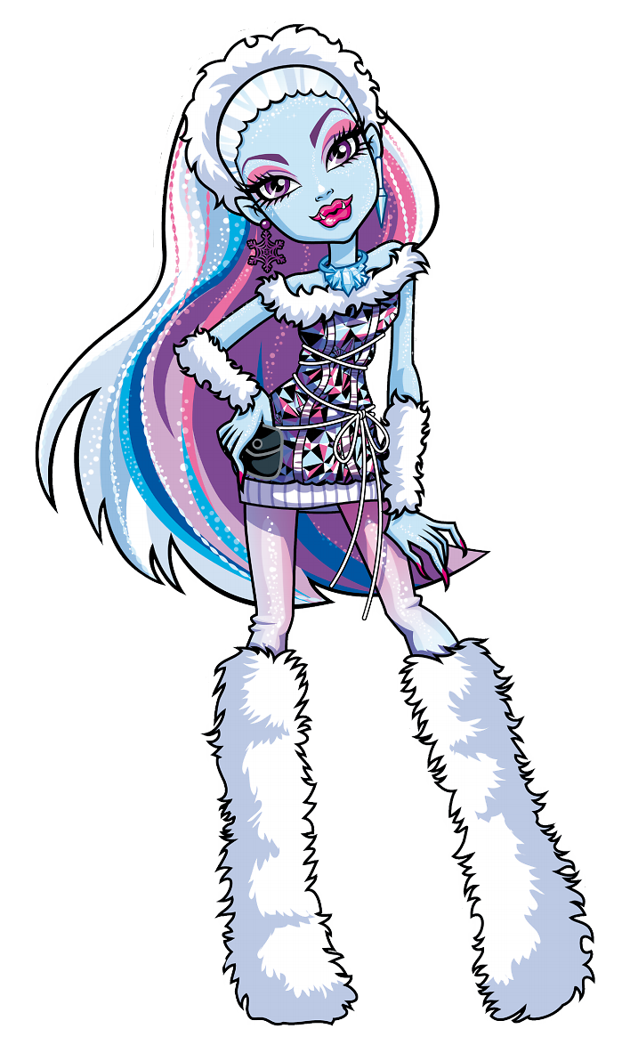 Monster High images Abbey Bominable HD wallpaper and background 699x1183