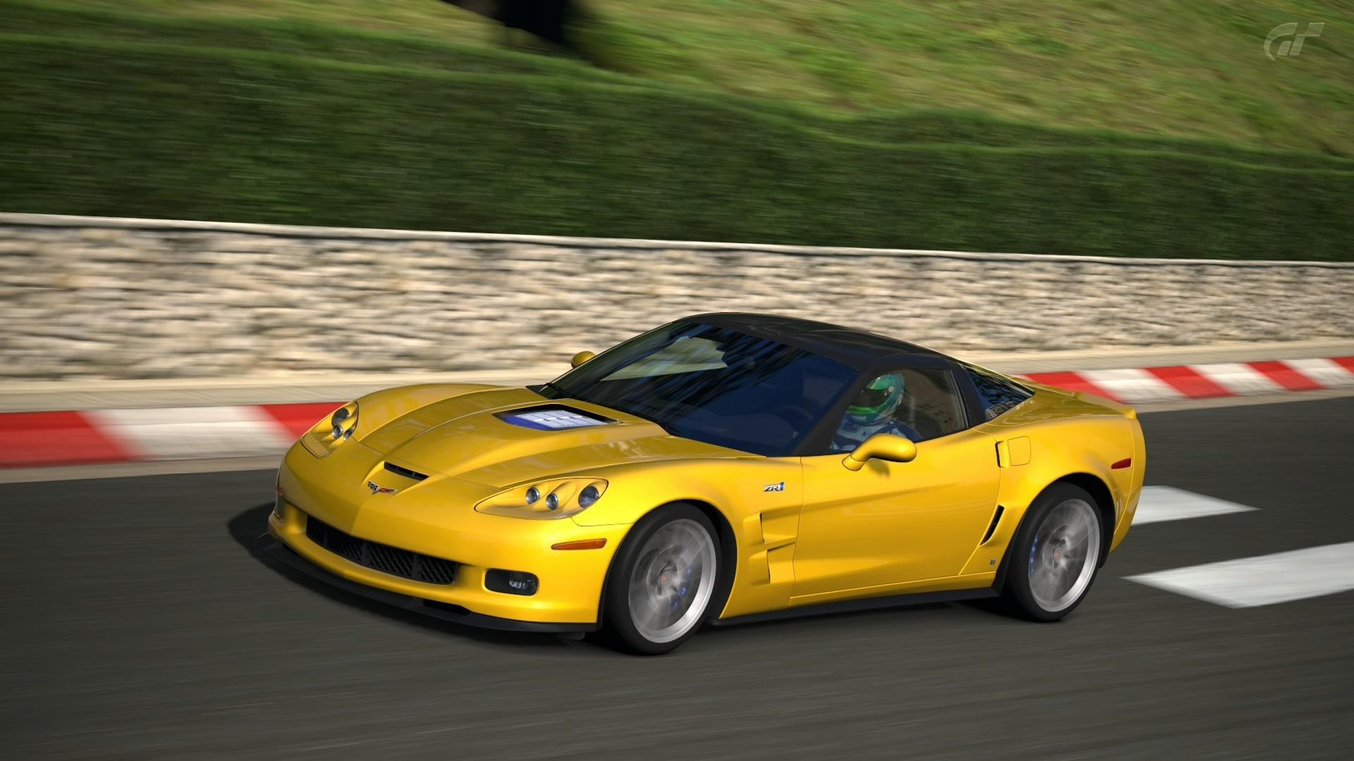 gran turismo 5 chevrolet corvette c6 z06 vs corvette c7. Black Bedroom Furniture Sets. Home Design Ideas